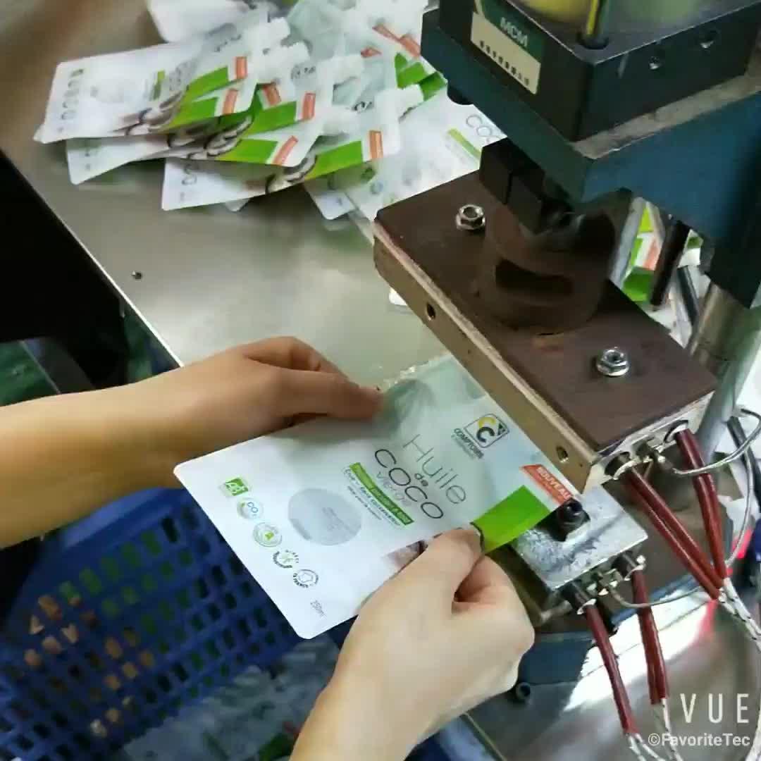 Baskılı Biyobozunur Şeffaf Plastik Sıvı Gıda Ambalajlama Stand Up Kilitli Kese