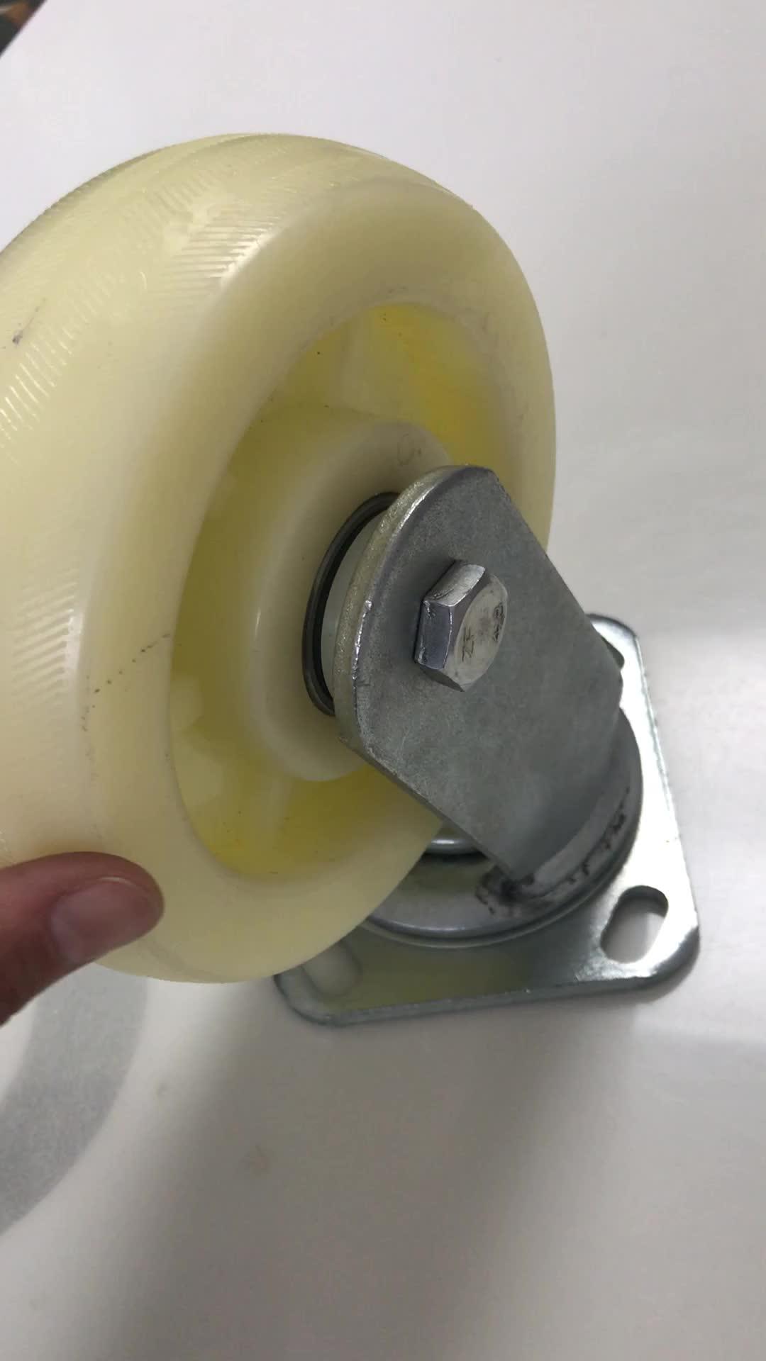 High quality 6 inch heavy duty nylon castor wheel for sale