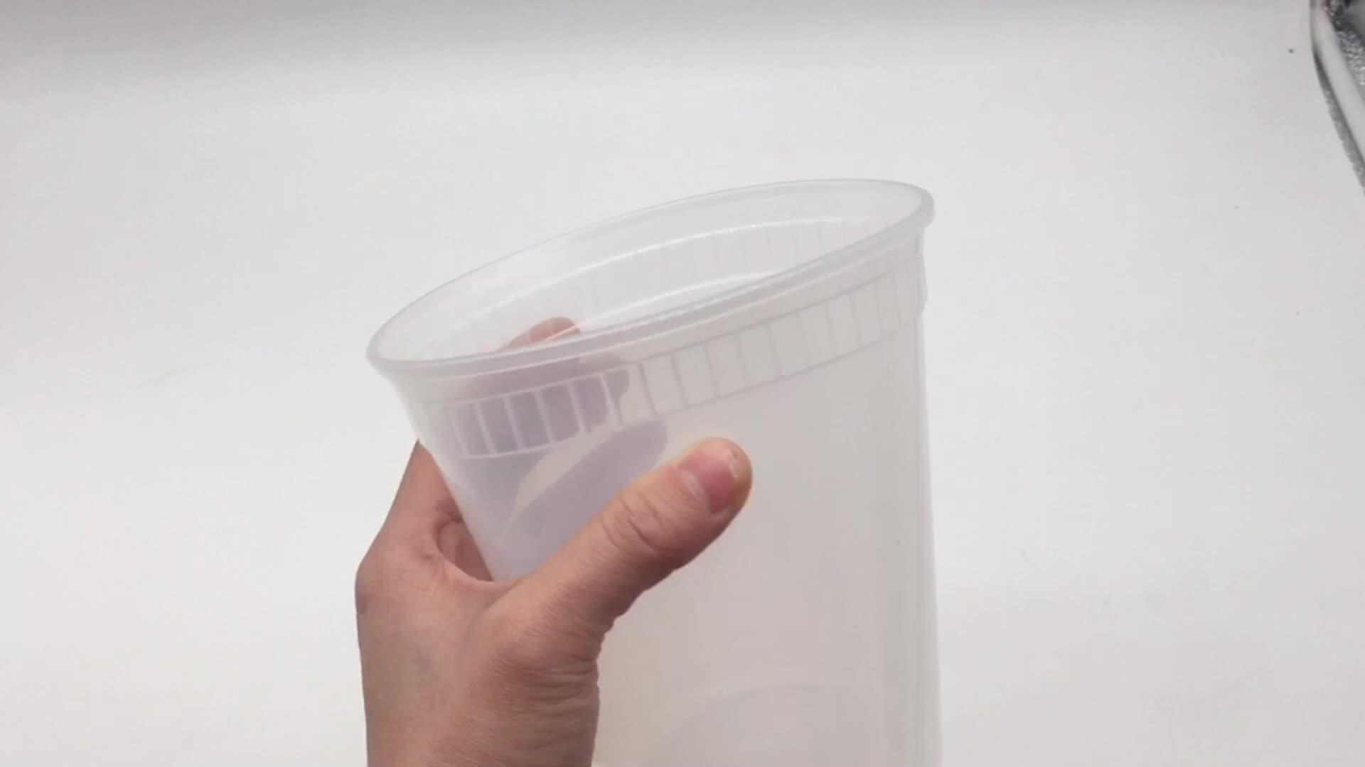 8 オンスデリ食品保存容器気密蓋 100 パック