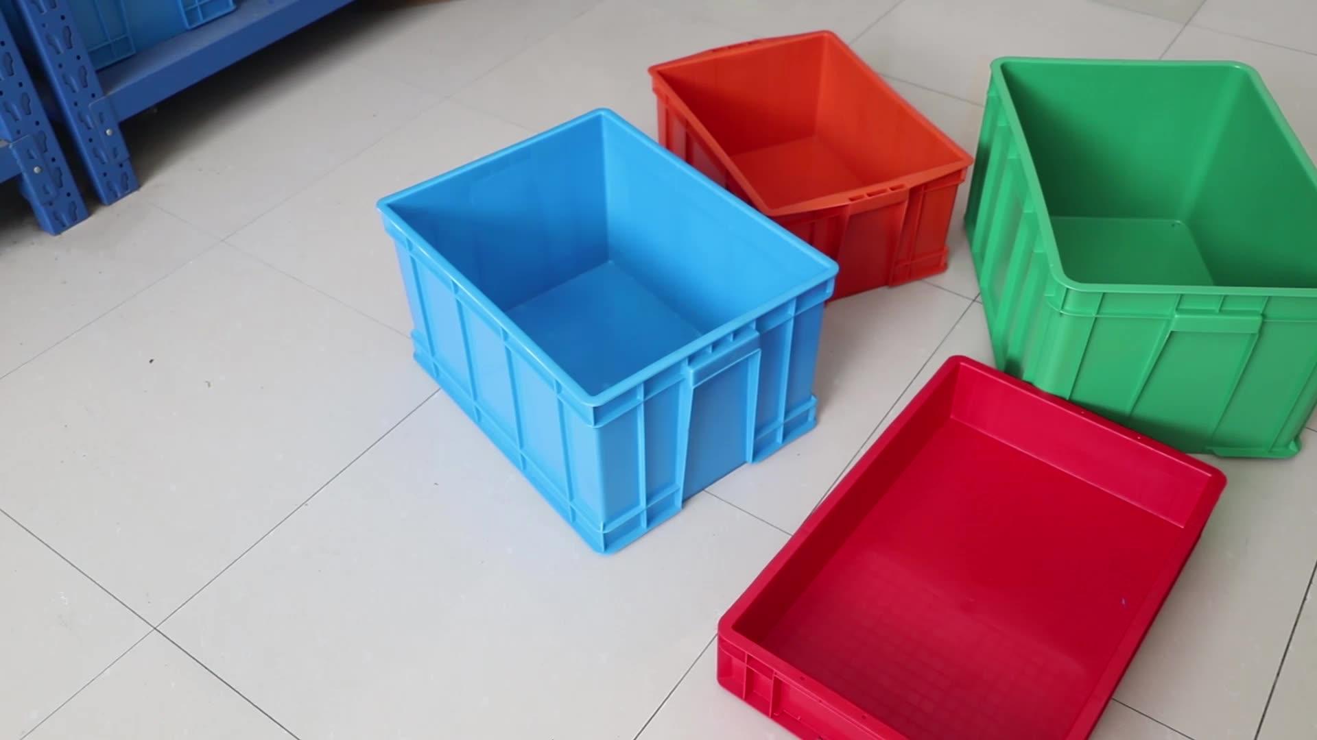 EU41233 1200*400*340mm  Anti-static PP Material EU standard parts storage Turnover box