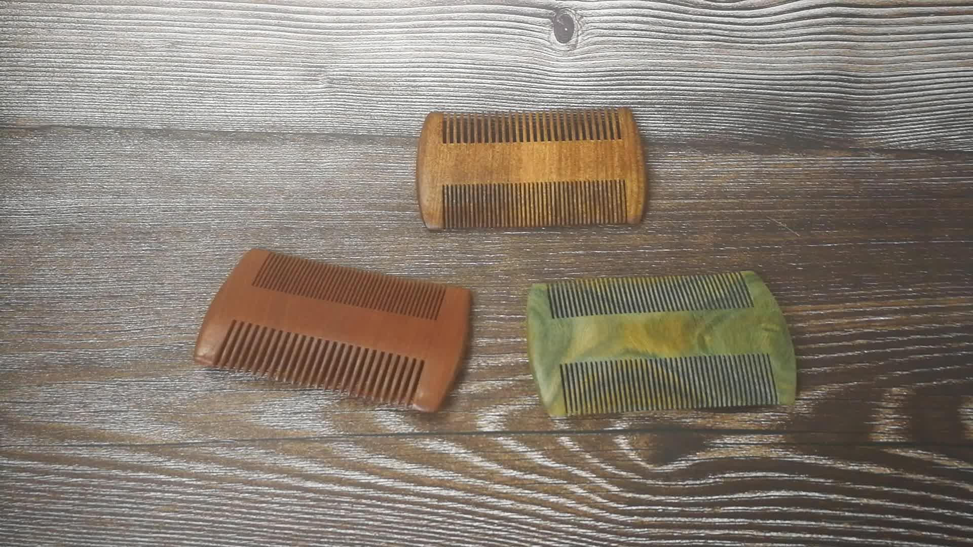 ขายส่งหวีเคราไม้สำหรับ man comb