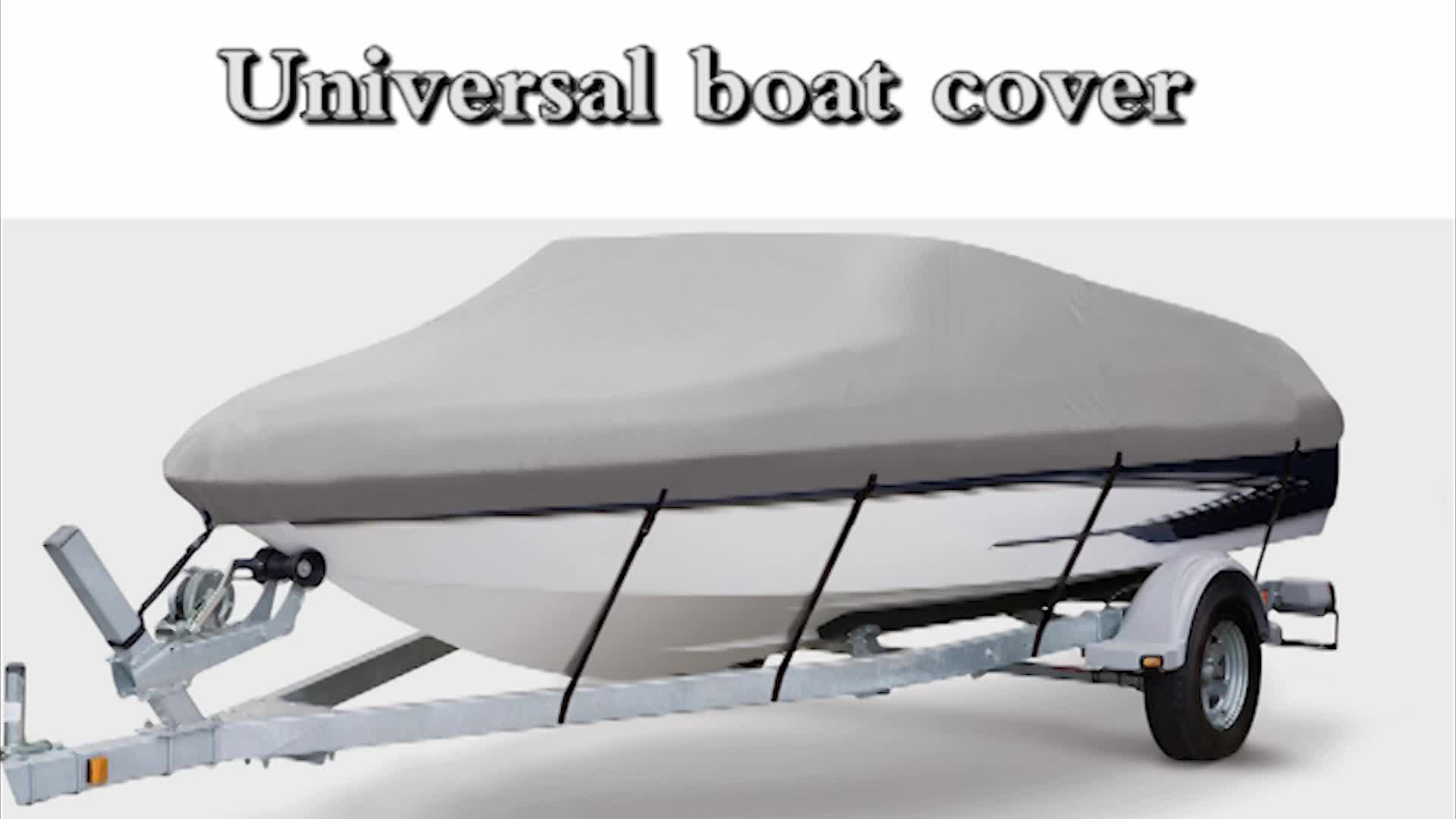 Inventory I style boat cover high quality Marine parts waterproof boat cover