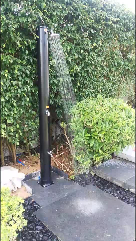 35L New Design Black Beach Shower PVC And Competitive Prices Outdoor Solar Shower
