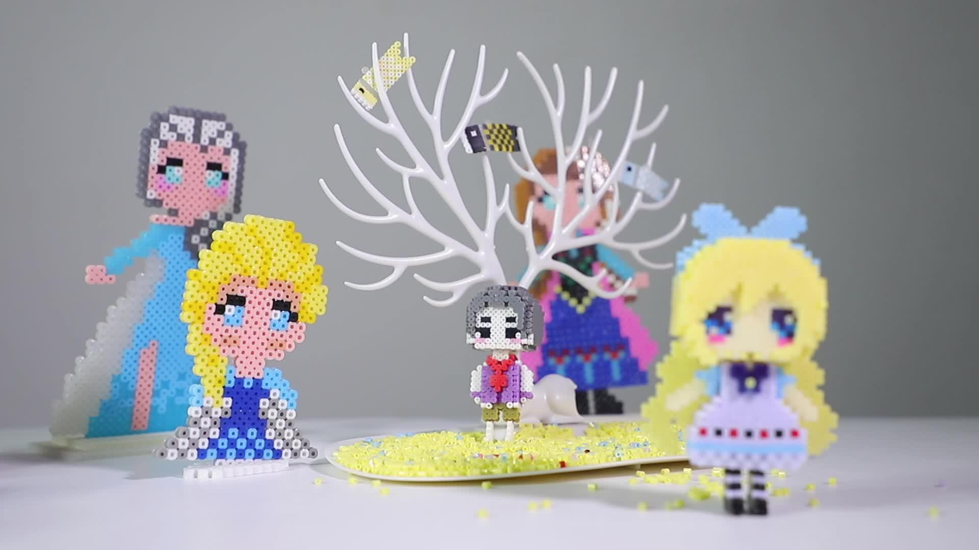 Artkal אופנה ילדים קרפט Hama חרוזים עבור 48 צבעים מגש CC48 פרל חרוזים