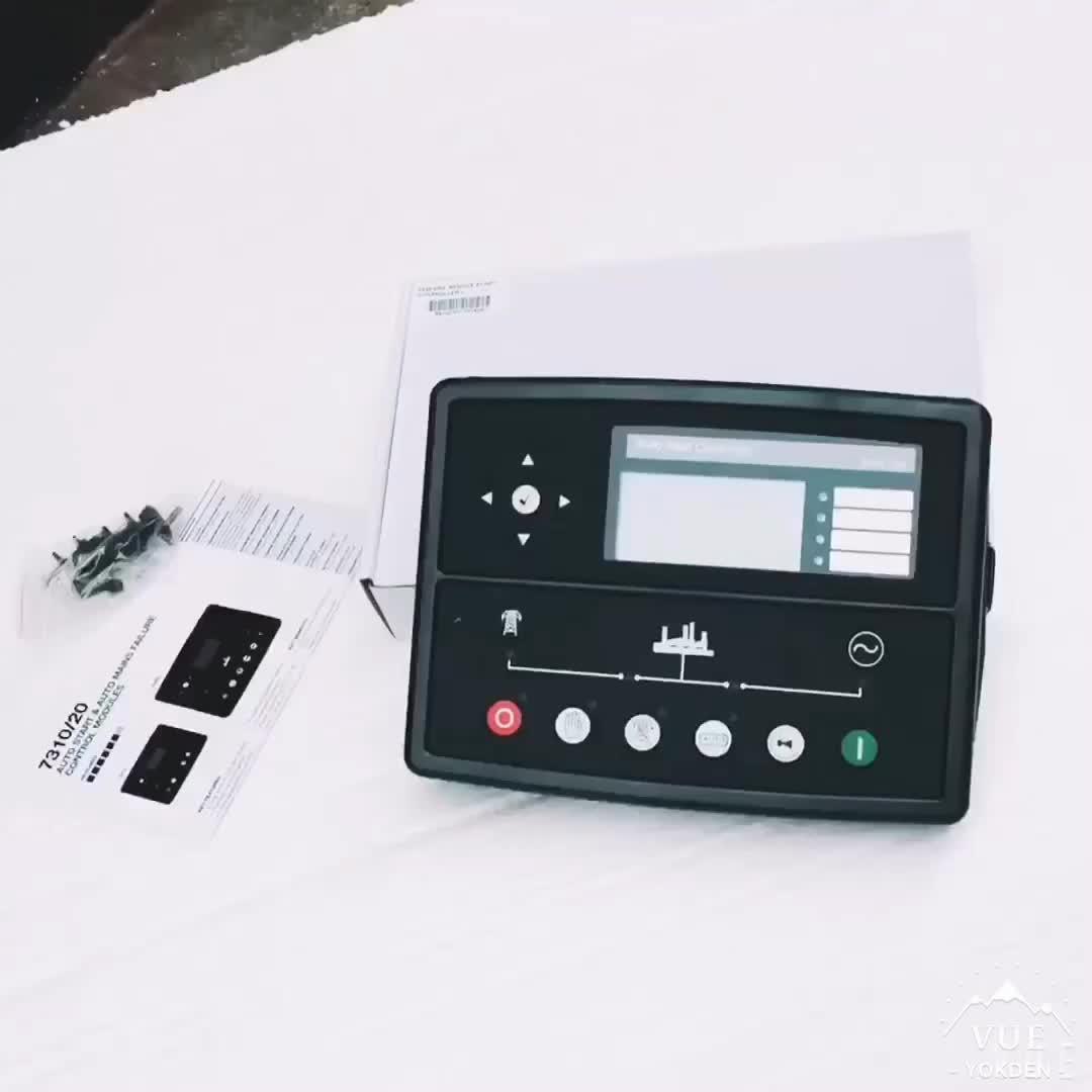 Hot Vendas Auto Start Controlador Do Grupo Gerador 7320