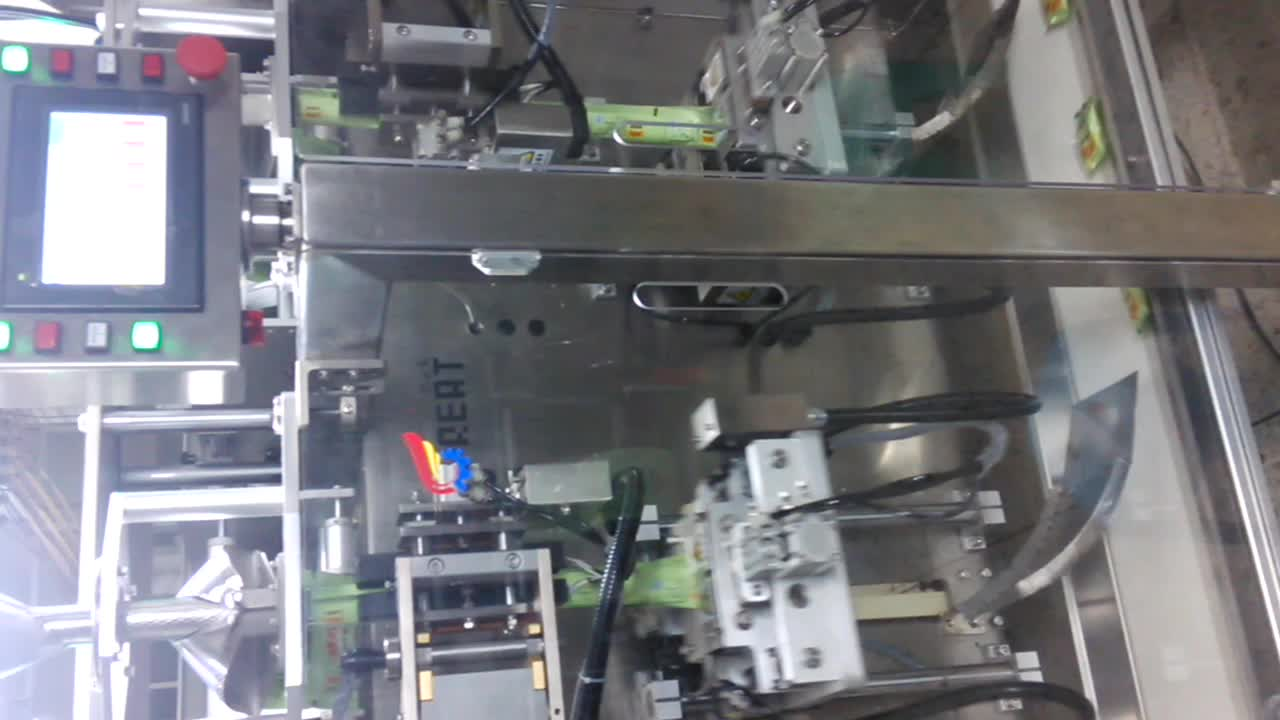 Great Pack Automatic Bag Packing Machine For Snacks