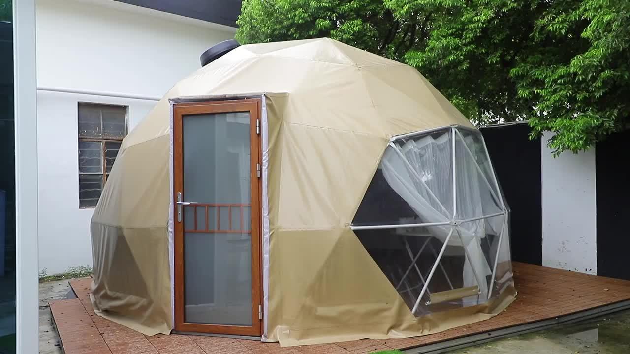 5 M, Đường Kính Đo Đạc Lều Mái Vòm Cho Khu Cắm Trại