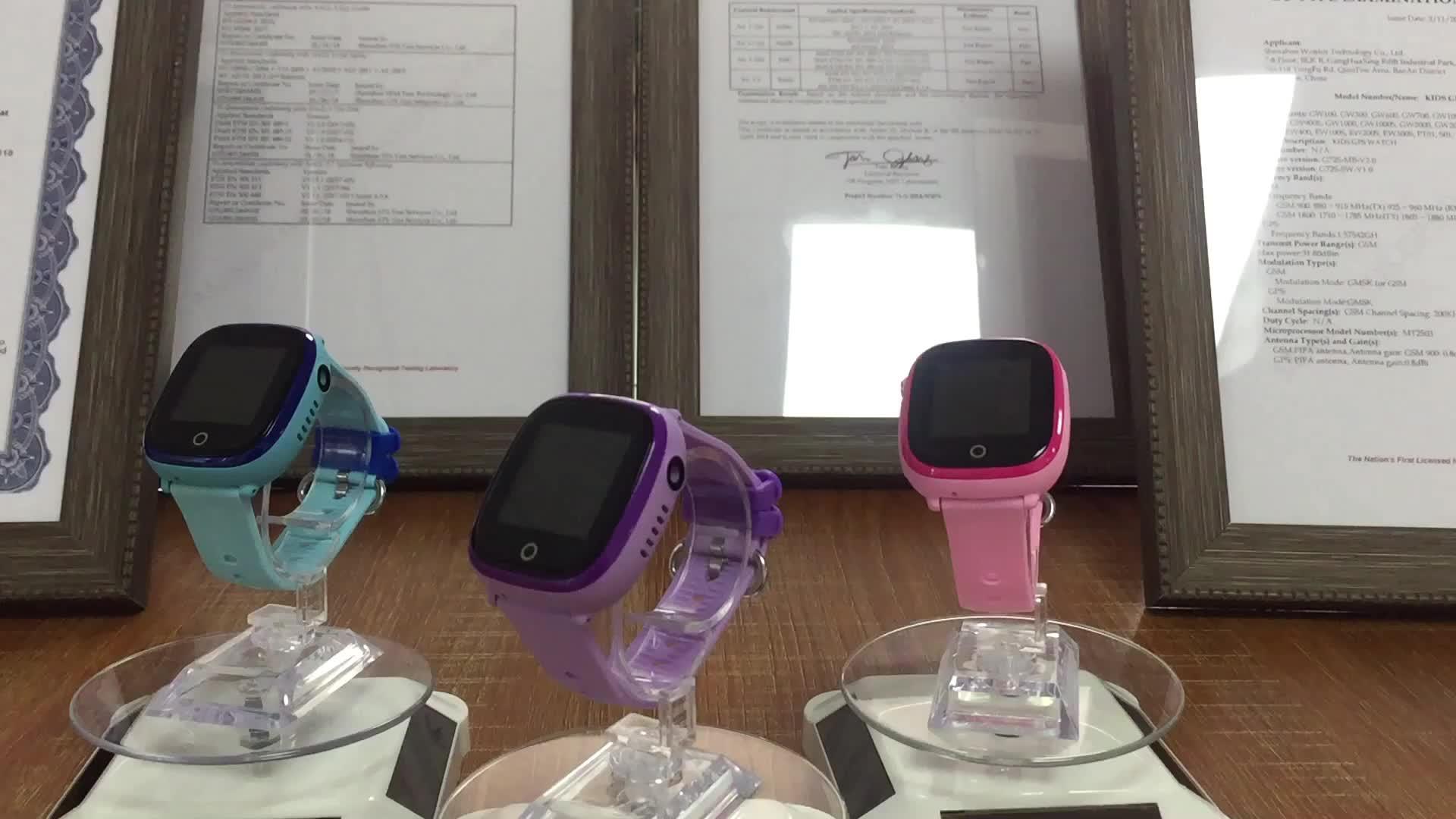 2019 Mới Nhất Wonlex thông minh đồng hồ điện thoại trẻ em không thấm nước gps theo dõi đồng hồ với ip67