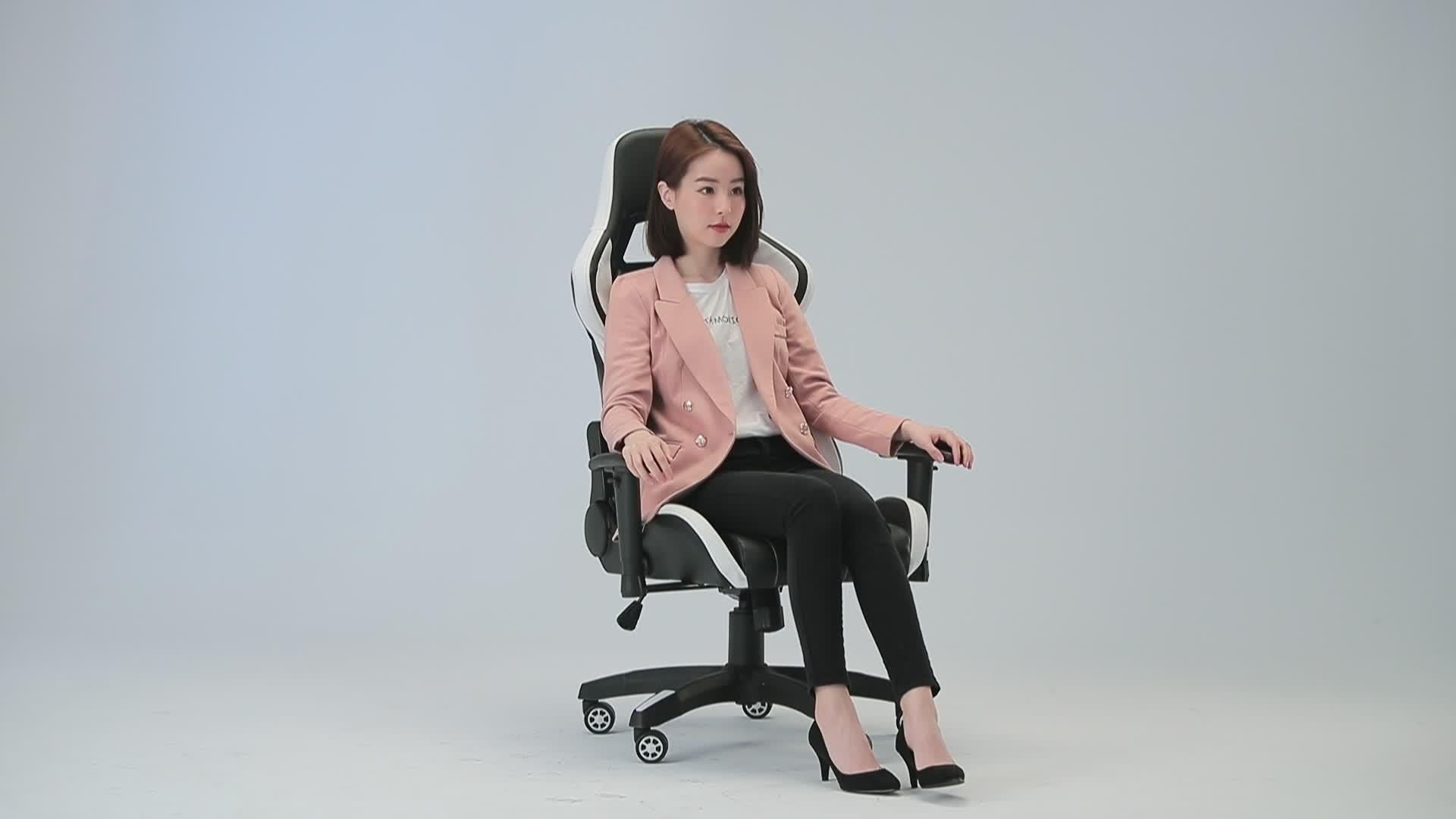 Ergonomique Audio vidéo bureau jeu course chaise jeu chaise course avec haut-parleurs chaise de bureau