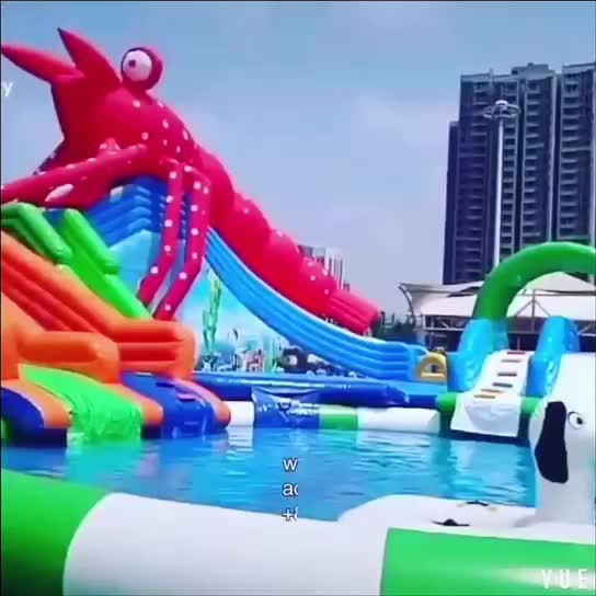 DNL customized Square inflatable pvc swimming pool