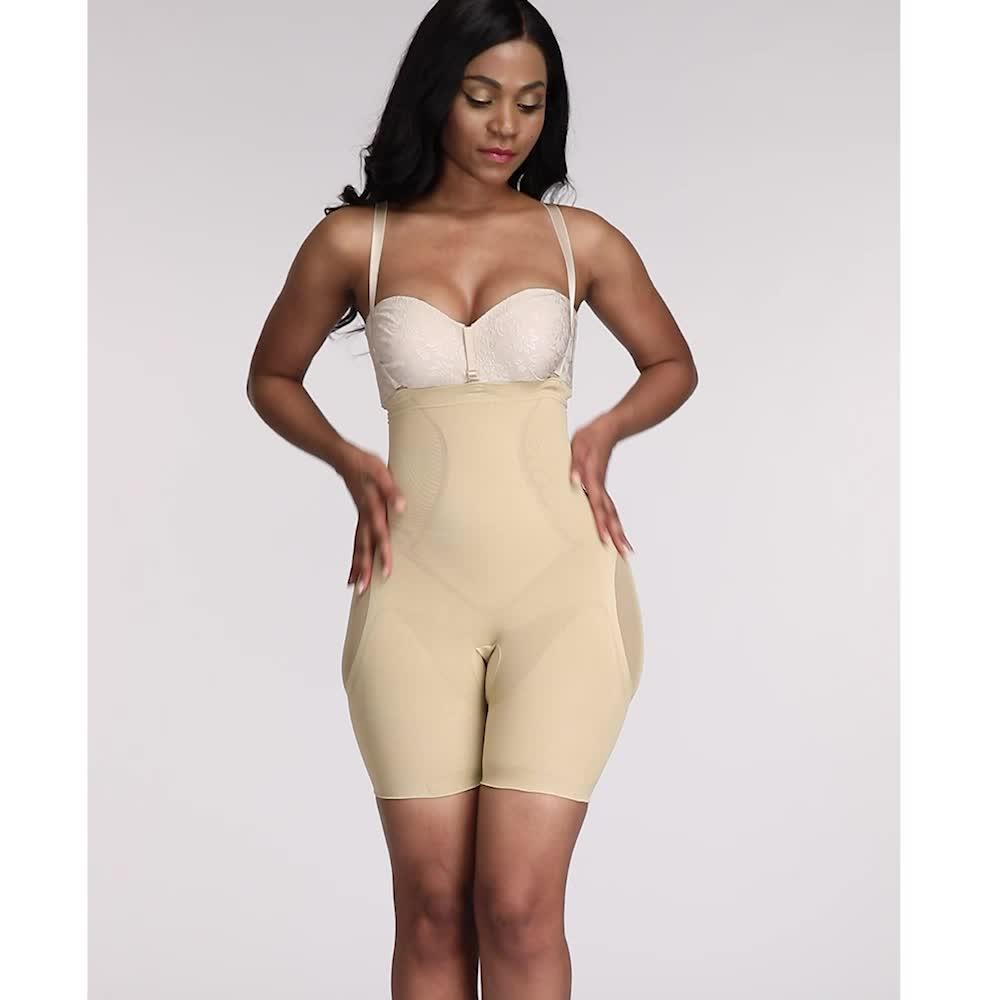 ขายร้อนสูงเอว Tummy ที่มีประสิทธิภาพ Hip ที่ดีที่สุดคุณภาพ Shapewear สำหรับผู้หญิง