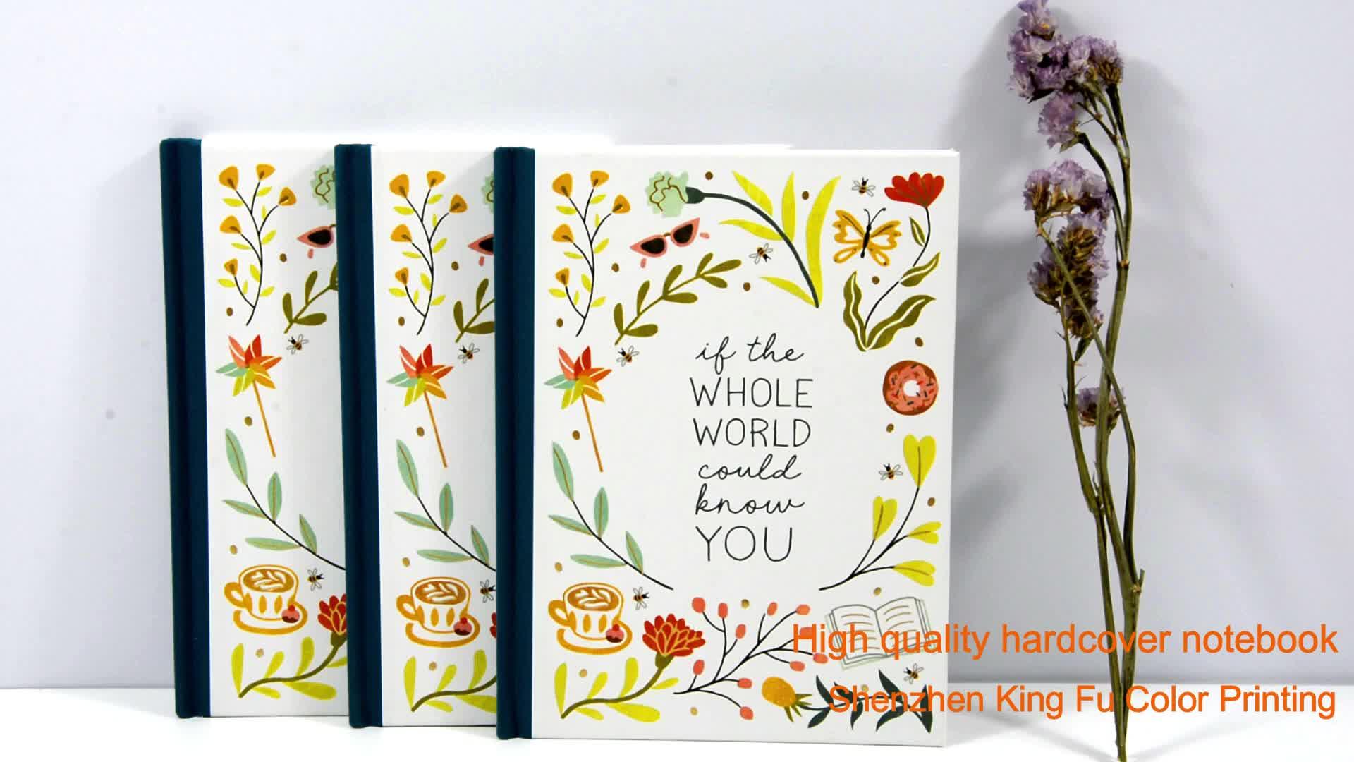 China printing casebound notebook children book magazine printing hardcover story book diary journal book printing
