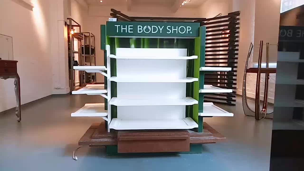 Luxury Lockable Glass Showcase High End Boutique Jewelry Shop Furniture