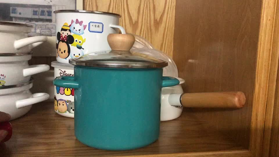High quality super market sell enamel high cooking pot