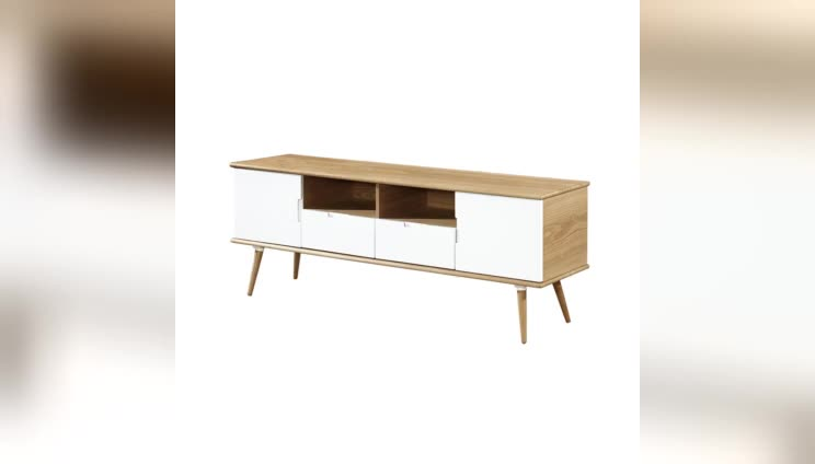 Factory Direct Sale  european small nightstand white luxury bedside table