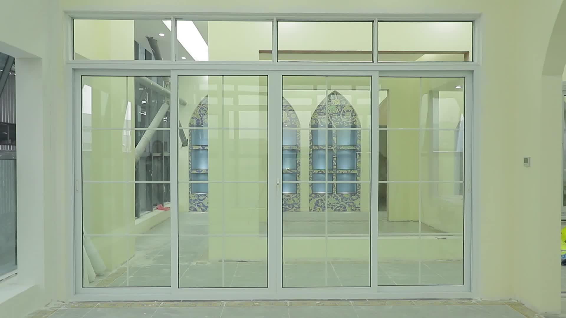 Últimos diseños de balcón puertas correderas de Pvc