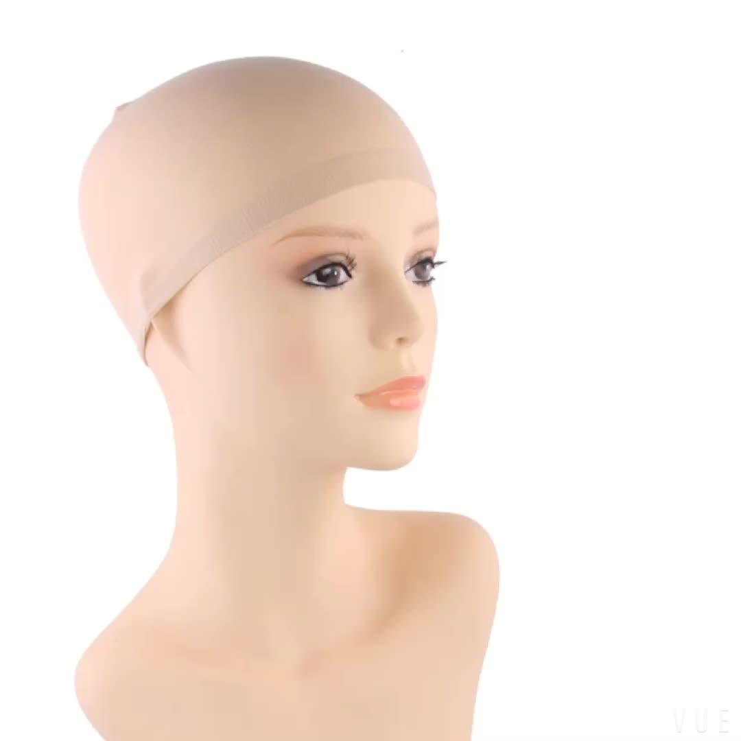 Benutzerdefinierte gute Qualität Mode Mesh Weben schwarz Dicke Haarnetz machen Kappen für Frauen schlafen Zubehör Kappe