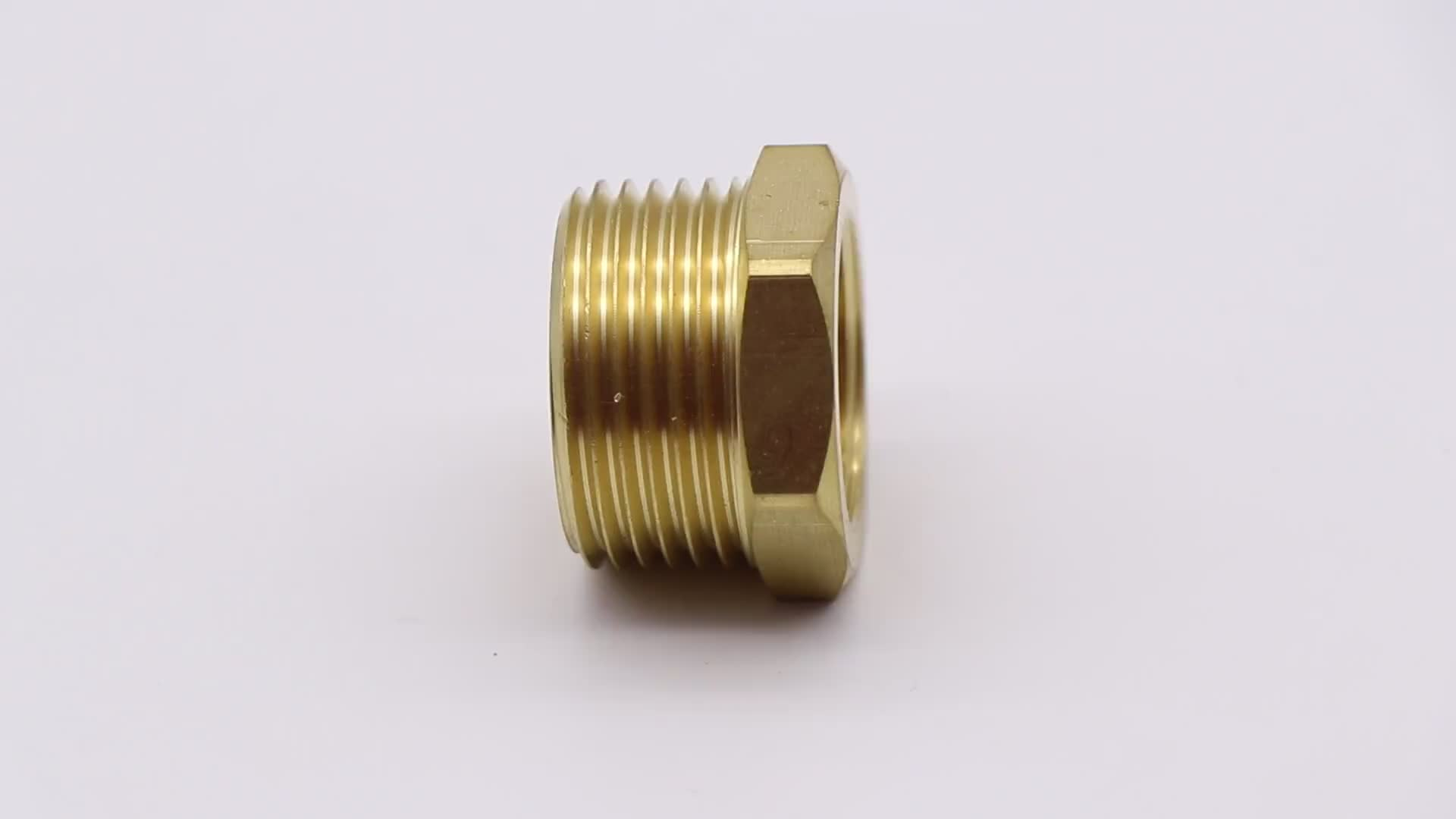 Brass Body With  Brass Fittings Plumbing Lead Free Brass Fittings