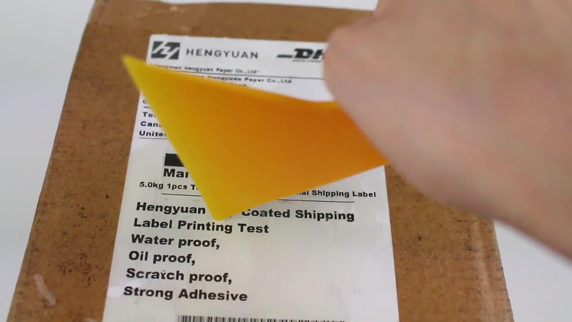 """4 """"x 2"""" Seri Numaraları Barkodlar Çıkartmalar Özelleştirilmiş Gıda Ambalaj Yapıştırıcı etiket kağıdı"""