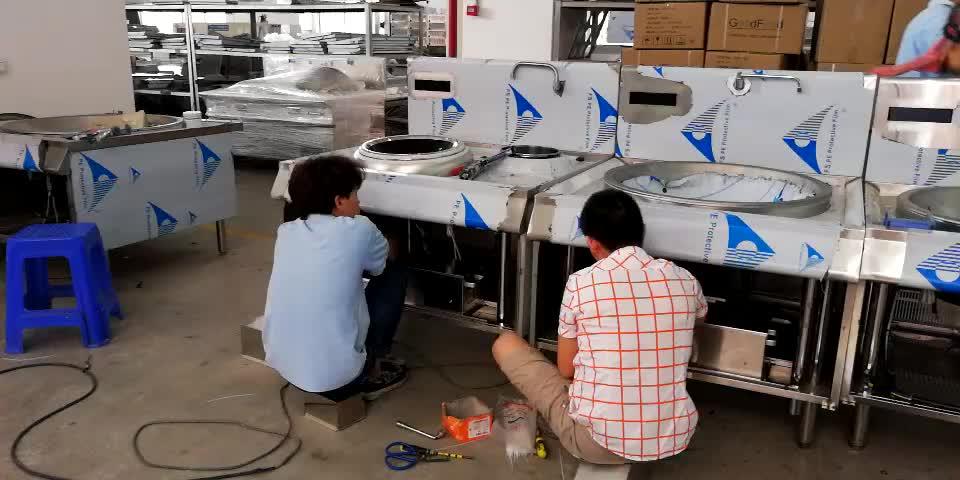 25KW China commercial เหนี่ยวนำไฟฟ้าช่วงเตา