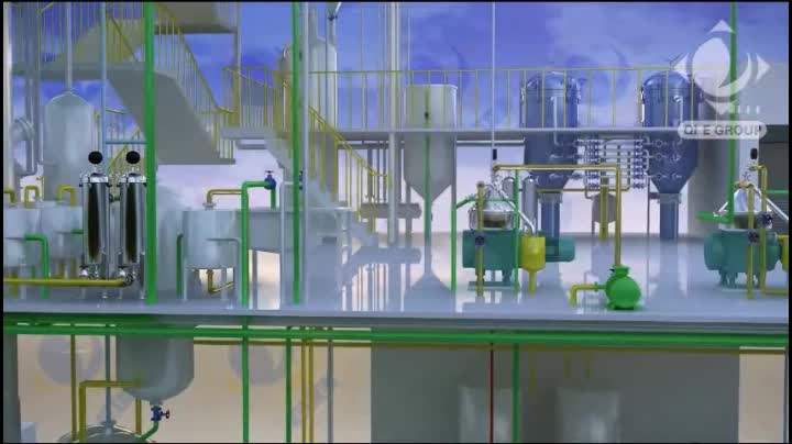 Soya bean oil cake solvent refined extraction complete processing machine production line cost