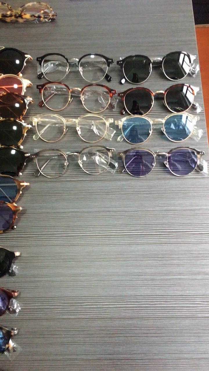 도매 맞춤 남성과 여성 선글라스 패션 브랜드 편광 아세테이트 gafas de sol 아세테이트 빈티지 선글라스