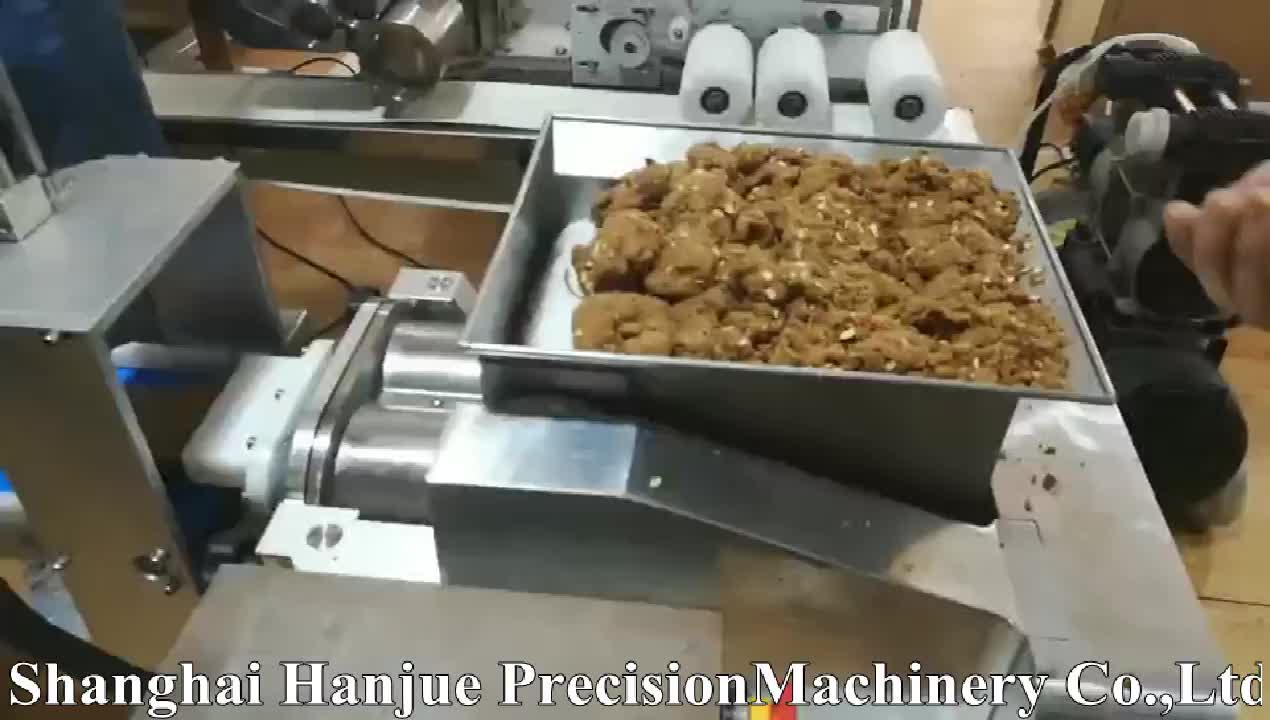 Hanjue Best hot sale automatic small mini protein snack nutrition energy fruit date bar making machine