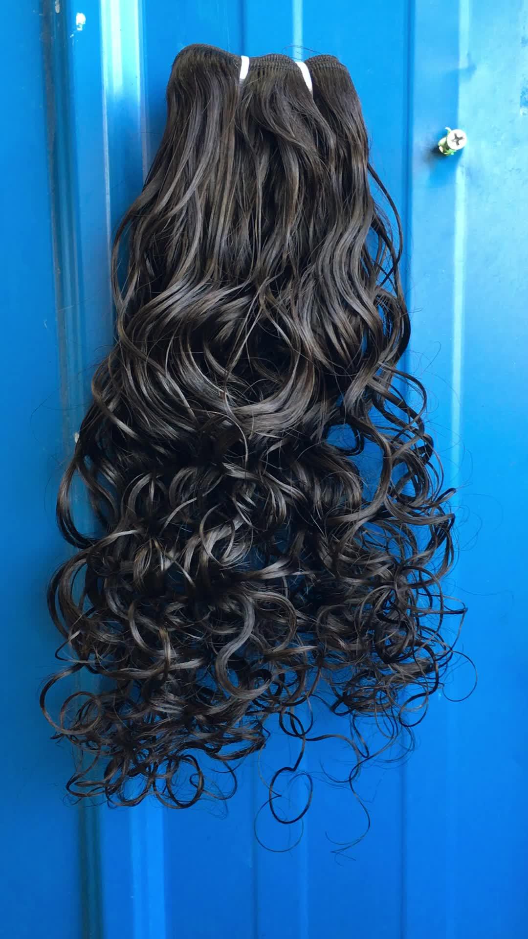 Il miglior stile di vendita del sudest asiatico dei capelli del commercio all'ingrosso dei capelli umani raw tempio indiano dei capelli direttamente da india