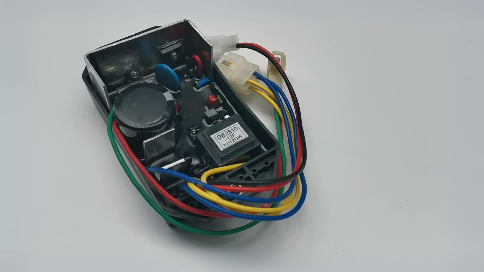10000 Watt Single Phase Diesel Generator AVR KI-DAVR-95S