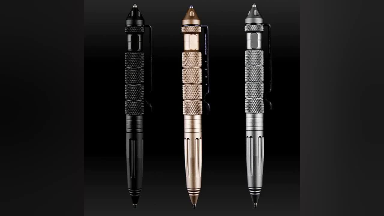 2018 Professional Military Tactical Pen Top seller Tactical Pen for Writing and self-defense pen