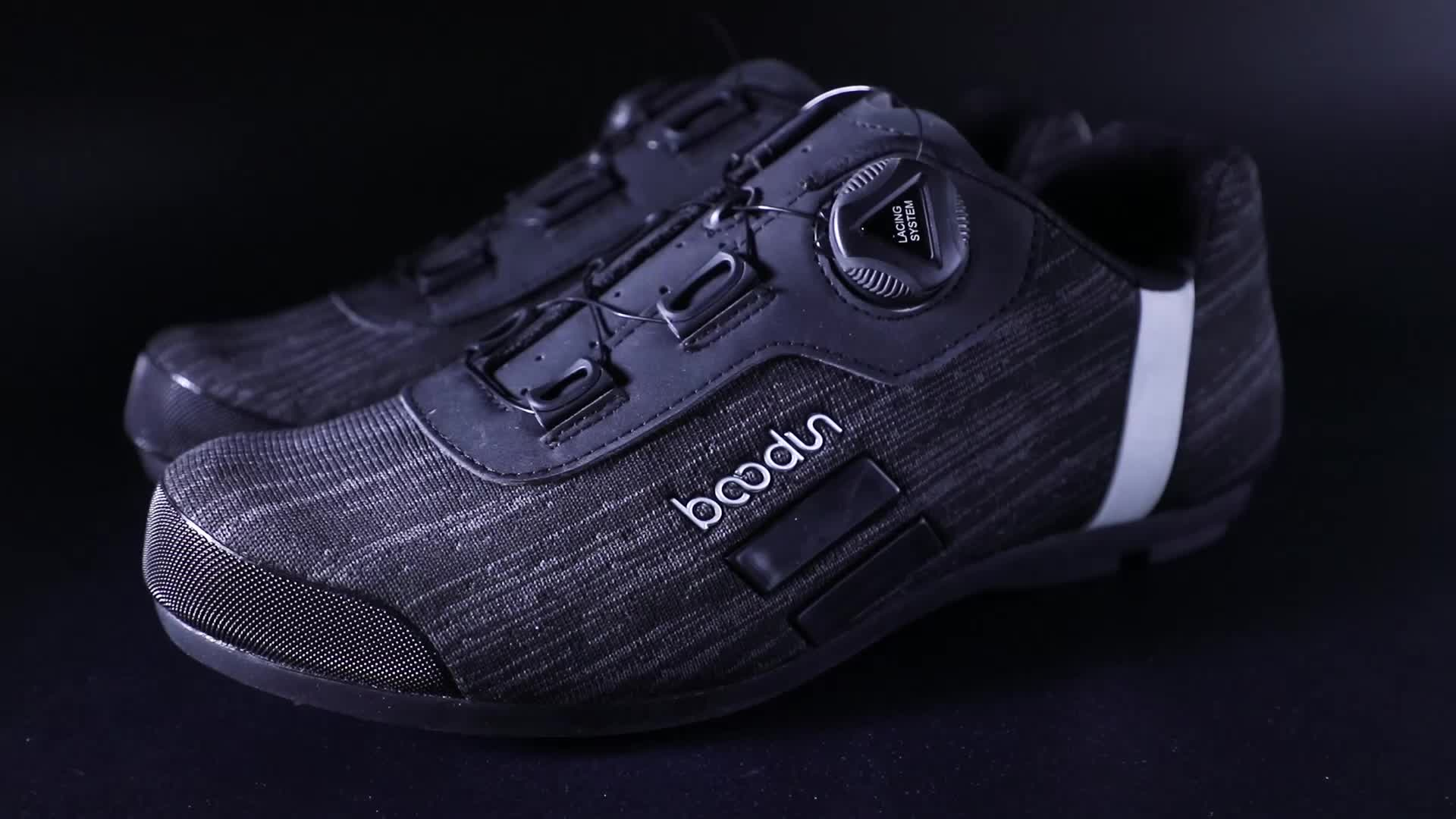 Boodun New non - locking outdoor riding shoes bicycle road dual - use cycling shoes
