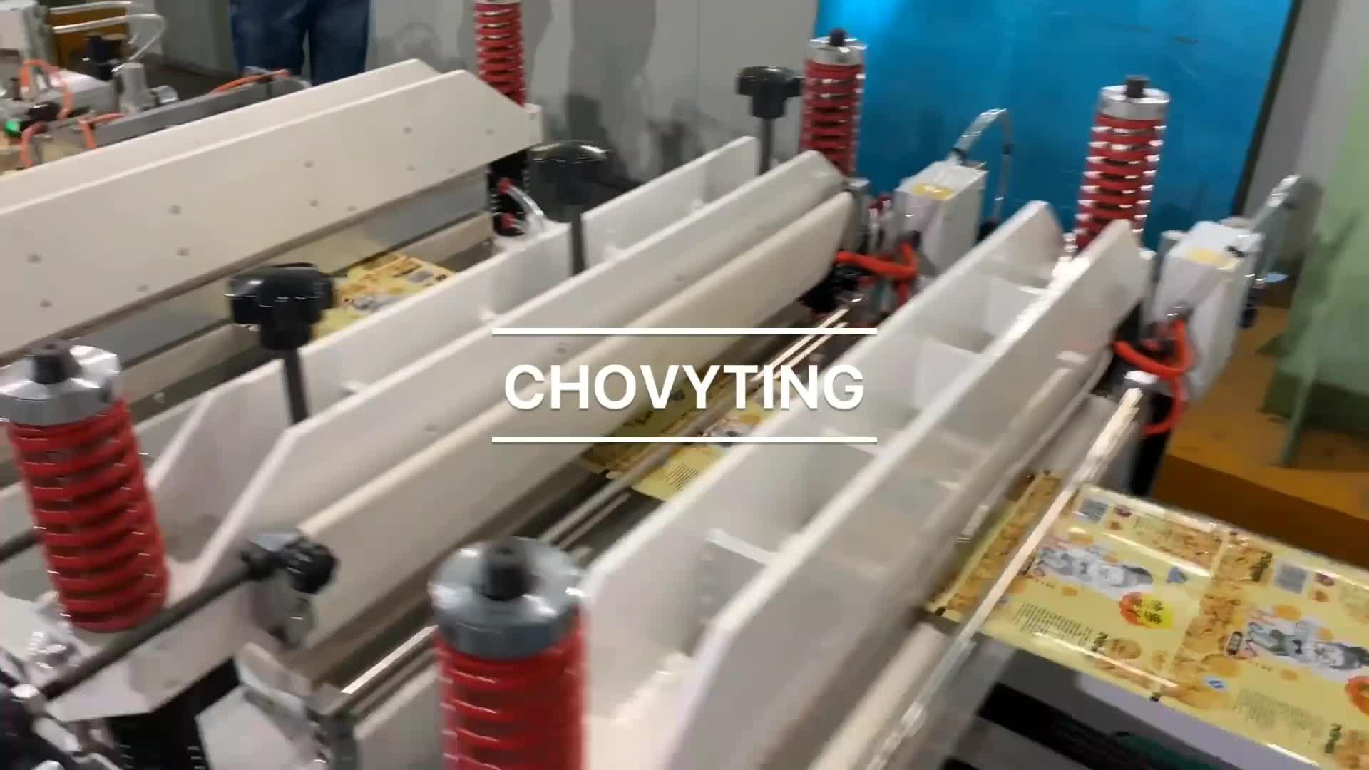 Automatique stratifié stand up sac en plastique machine de casse-croûte de nourriture liquide d'emballage de tirette de doypack pochette sac faisant la machine