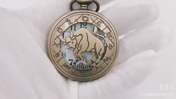 Best news! 12 constellations pocket watch with twelve horscope signs zodiac 12kinds! Each one has one!