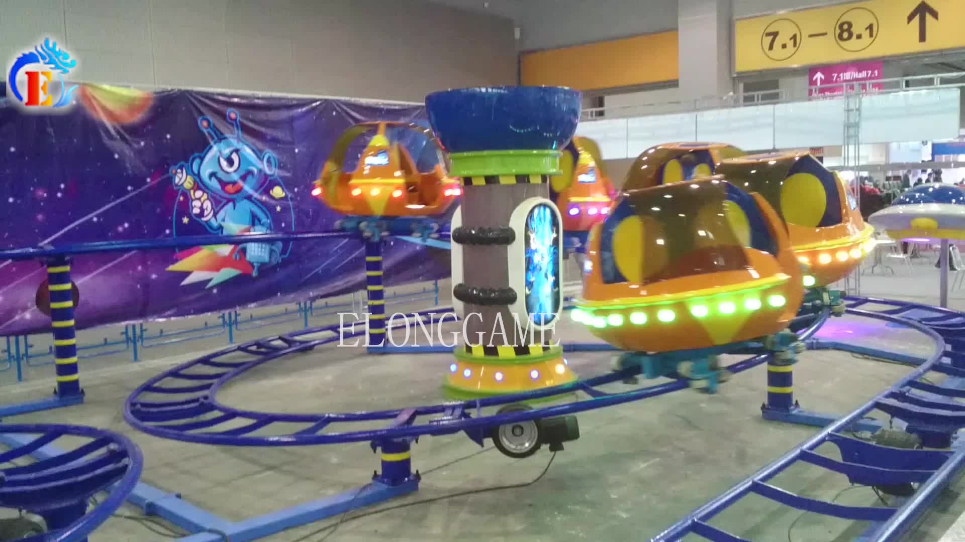 New arrival! 3D virtual roller coaster with 360 degree rotate