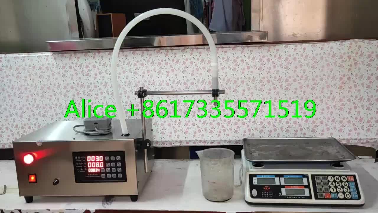 Best selling portable liquid filling machine/ small oil liquid filling machine/hand desktop pump liquid filling machine