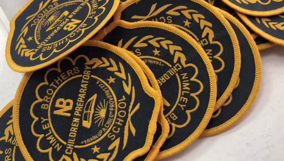 Wholesale Customized Embroidery iron on Patch Products