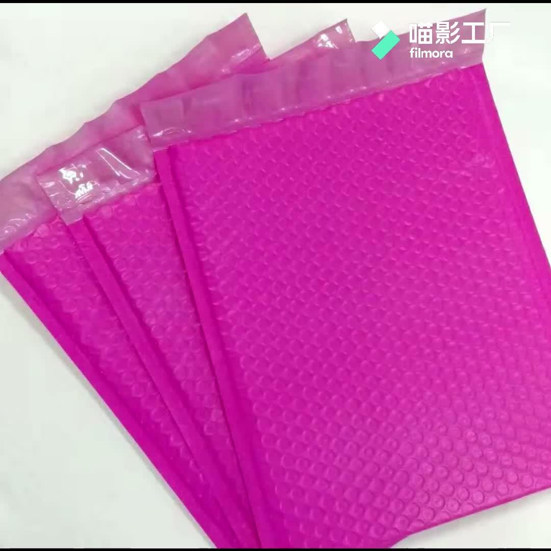 Venda quente Bolha Envelope Mailer Com Projetos Biodegradável Mailing Bags Branco Made In China