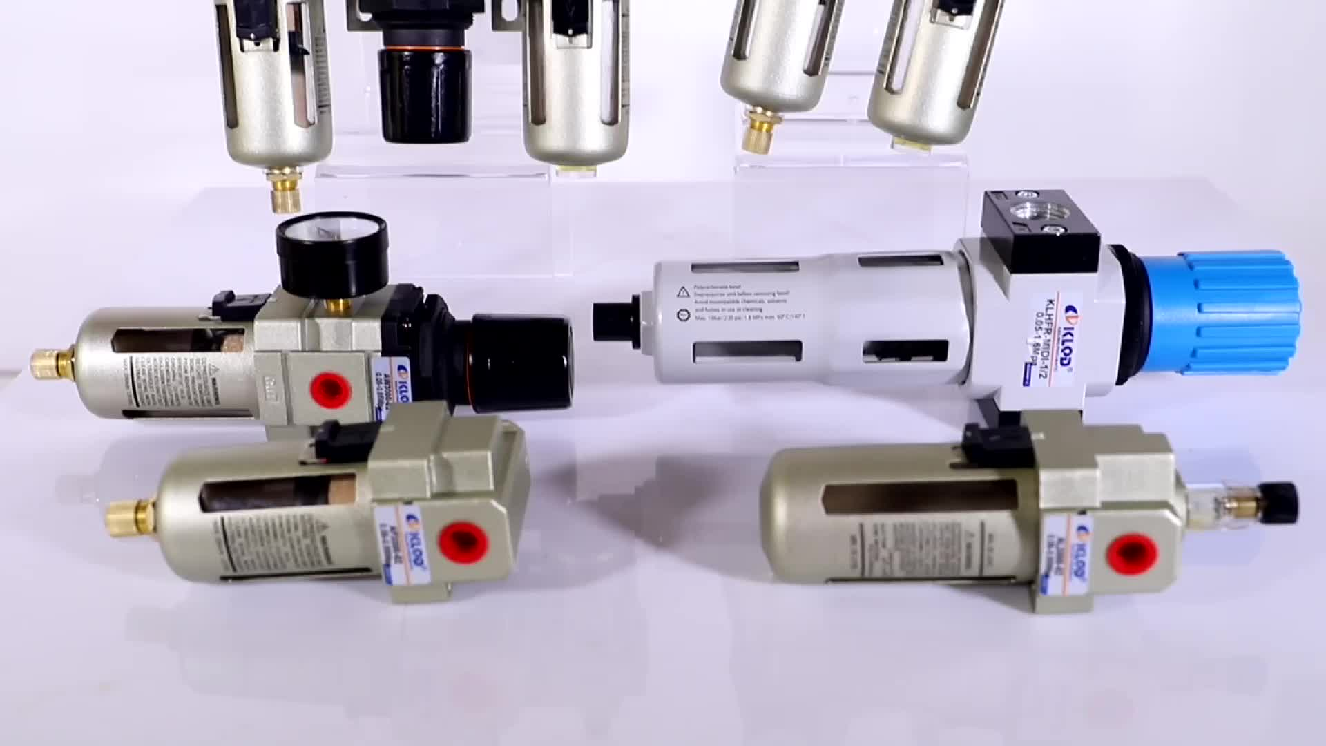 air line air filter regulator and lubricator combination FRL units, AC2010-01