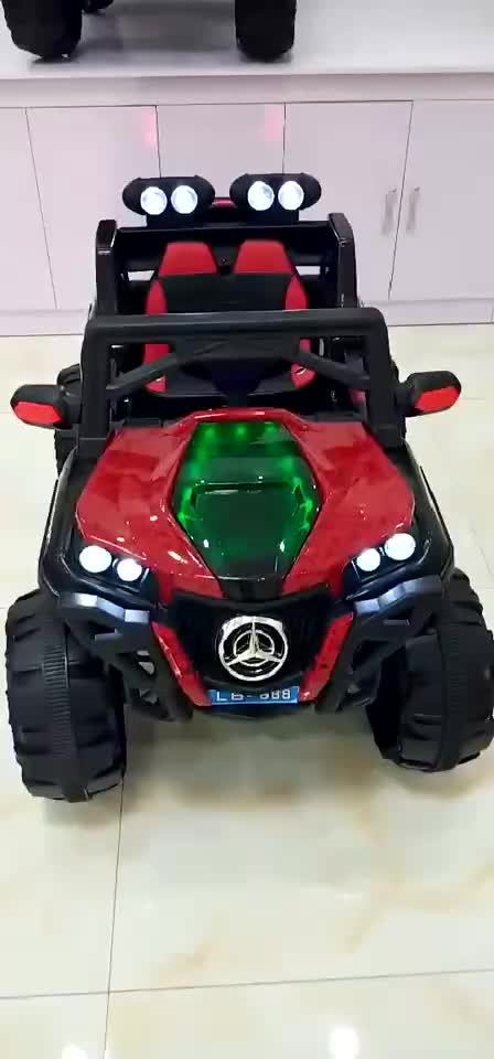 EN71 Electric ride on toy cars for kids one button to start very safe with LED light