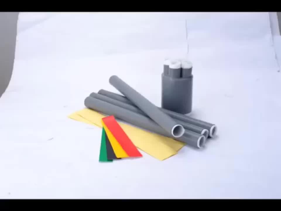 Factory supply 10KV silicone rubber termination cold shrink cable joint kits
