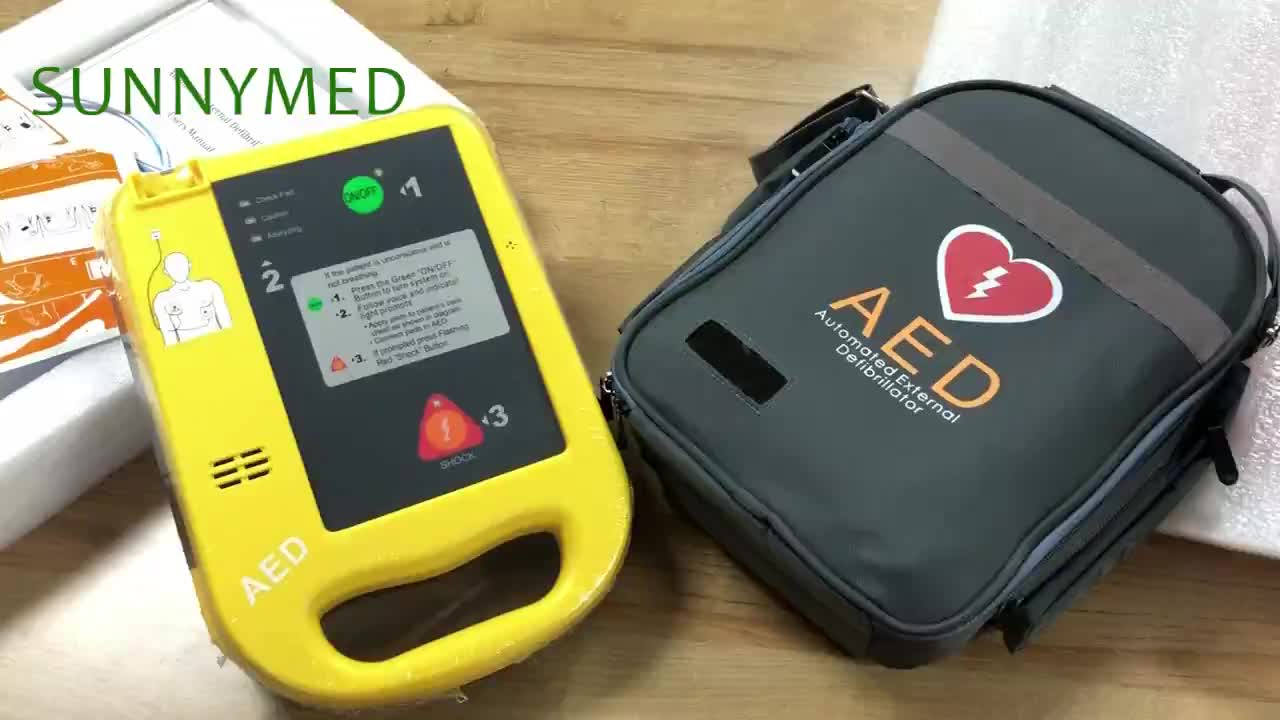 SY-C025 Guangzhou Emergency AED Defibrillator Potable Pacemaker
