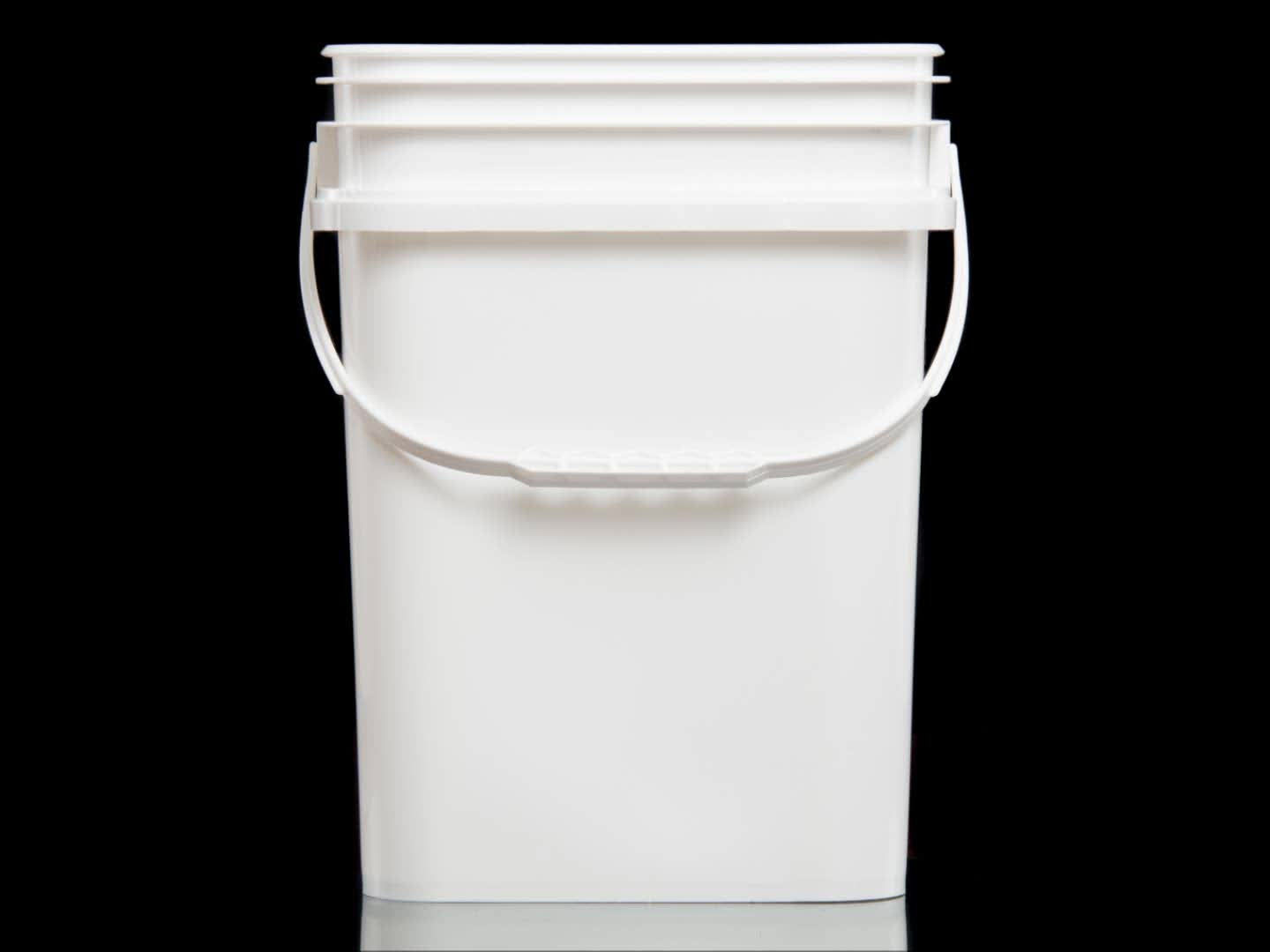 High Strength 15 Liter Square Pail For Pet Product