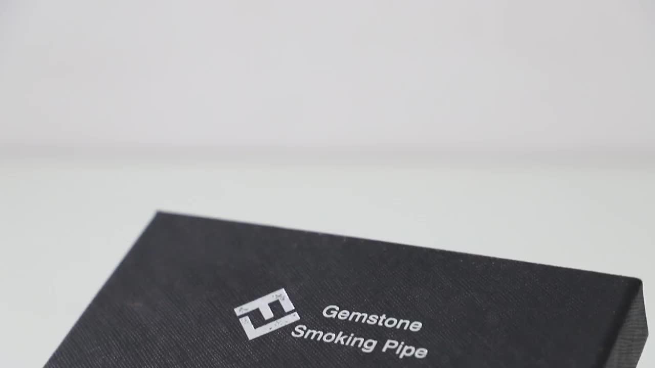 Quarzo Rosa naturale Supporto di Sigaretta Di Cristallo Fumatori Tubi Per Il Regalo