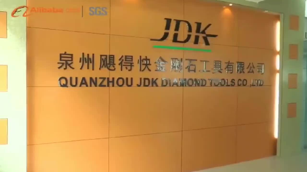 "JDK 6 inch diamond saw blade for granite 5"" 6"" Turbo Dry Cutting Disc"