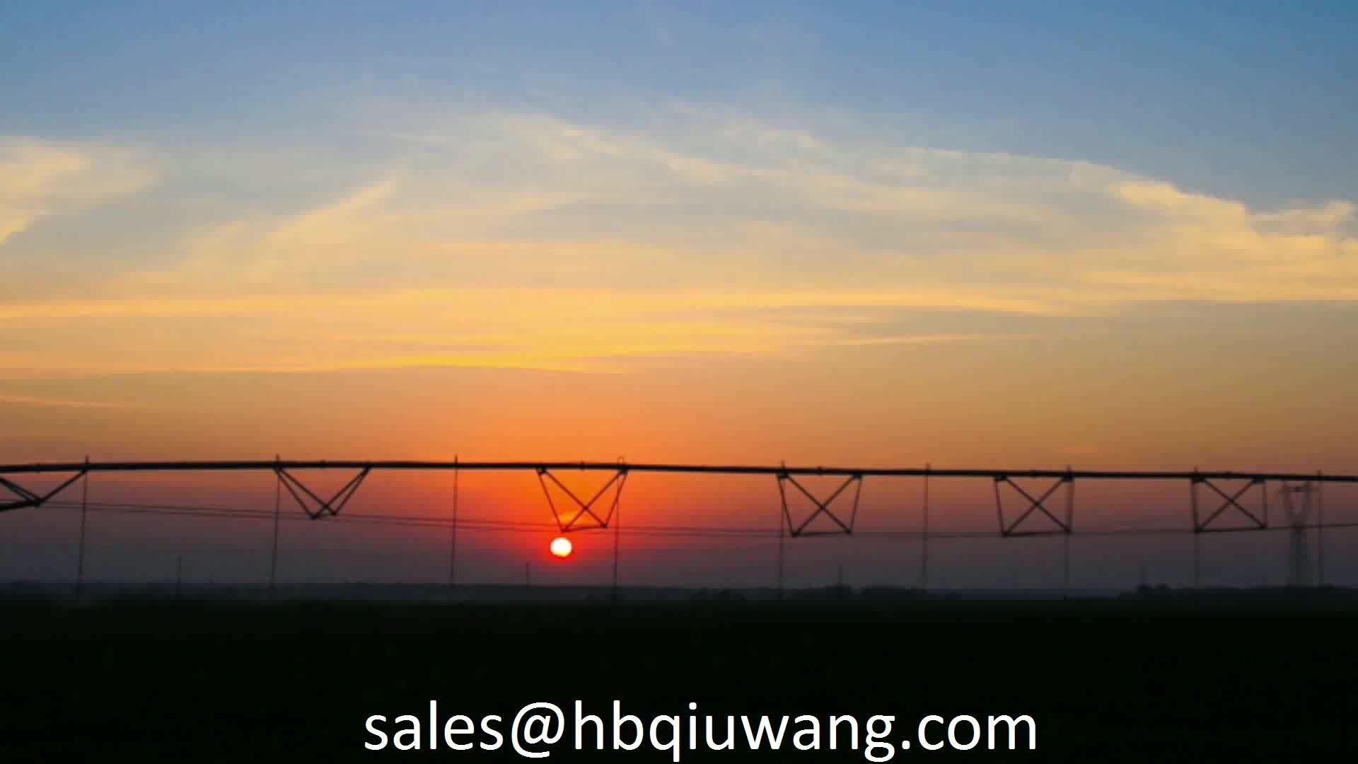 Automatic center pivot irrigation sprinkler machine for sale