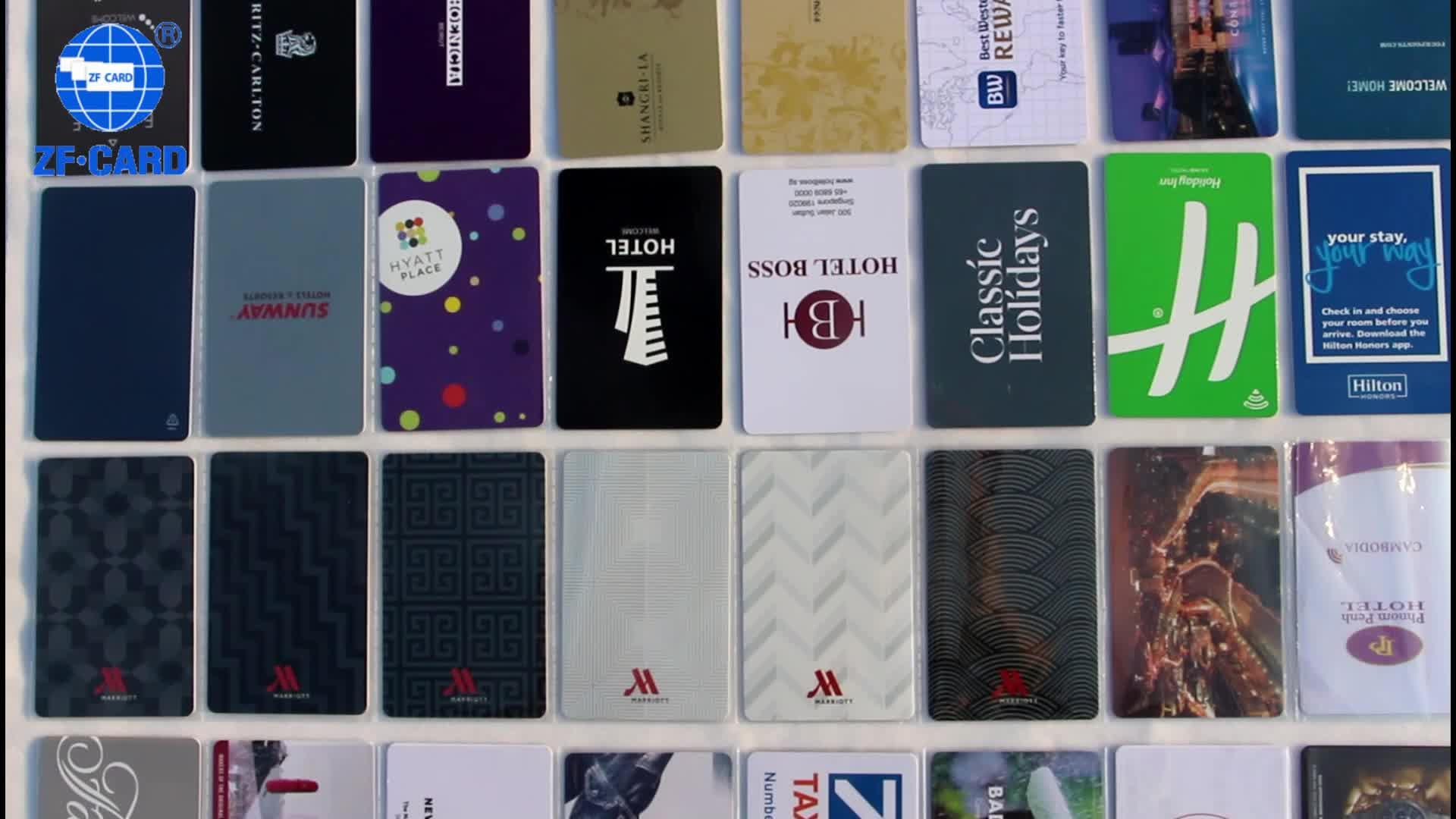 호텔 키 카드 A90 / A93 / FH86 도어 잠금 시스템