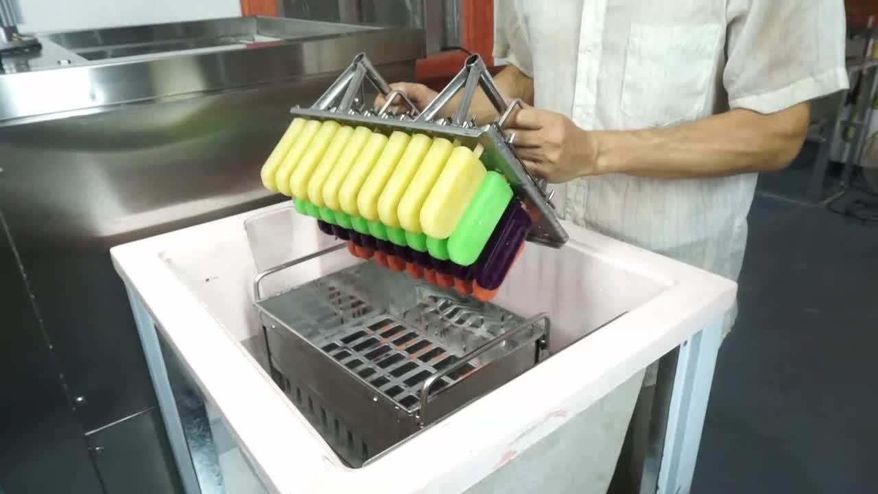 Free shipping Single mold ice lolly machine machine 160 pcs per hour