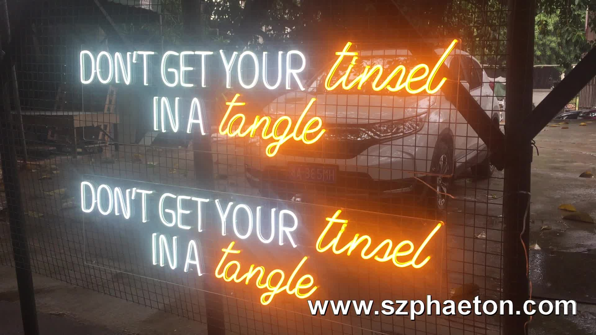 custom led neon sign letters, electronic signs for wedding