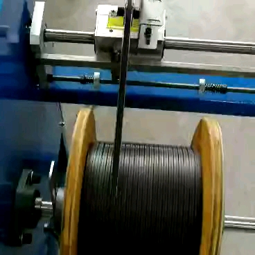 Qipang copper wire winding to spool machine  optical fiber cable rewinding machine