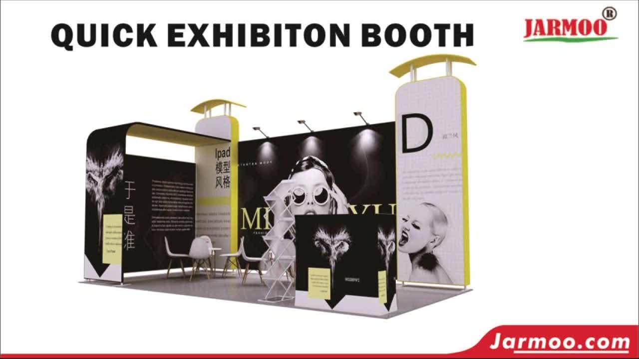 Custom Printing Beurs Fair Booth Design Tentoonstelling Booth 8X10Ft